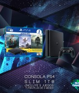 Consola PS4 Slim 1TB Bundle Hits 4