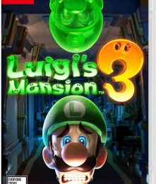 Luigi Mansion 3 Switch